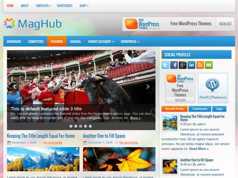 MagHub-WordPress-Theme