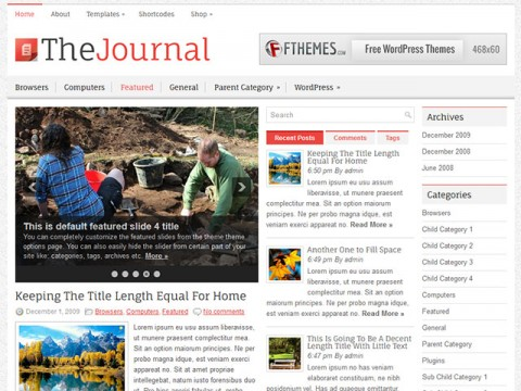 TheJournal-WordPress-Theme