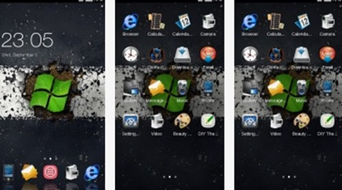samsung-galaxy-note-yesil-windows-tema-indir